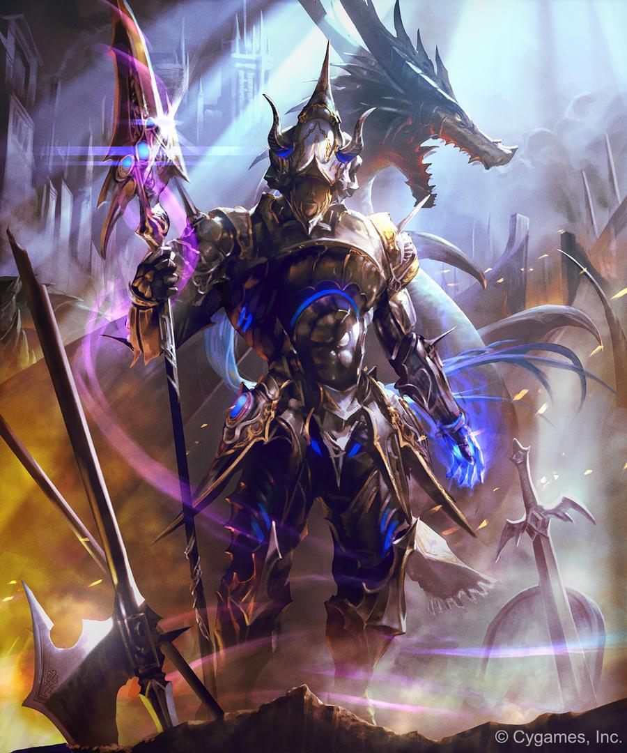 Aldos, Imperial Dragoon (Evolved) by kazashino