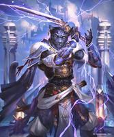 Swordflash Panther by kazashino