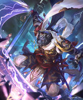 Swordflash Panther (Evolved) by kazashino