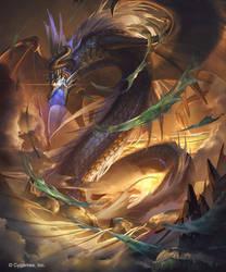 Genesis Dragon of Disaster by kazashino