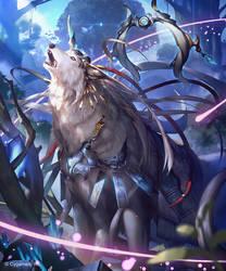 Omnis, Prime Okami by kazashino