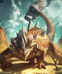 Rockback Ankylosaurus