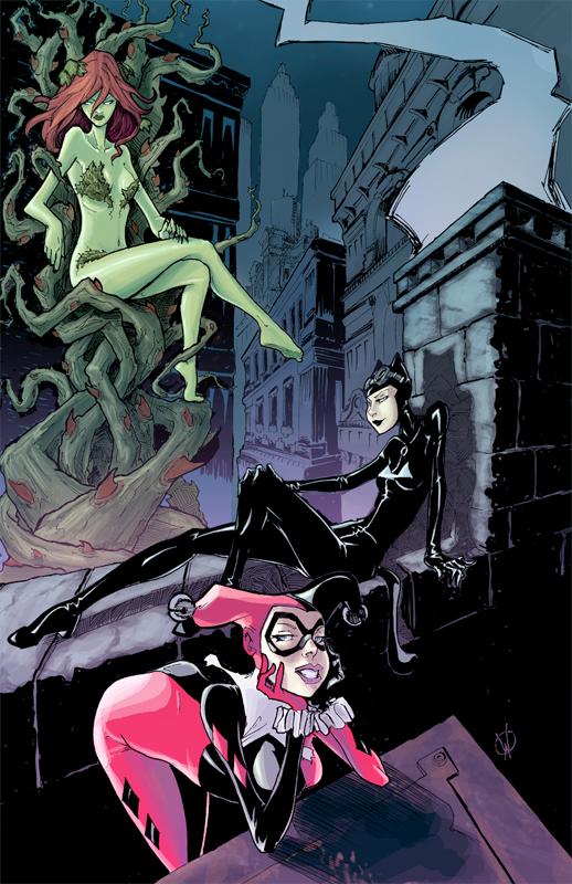 Gotham Sirens by Walter-Ostlie