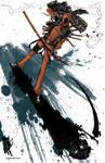 Deadpool Demon Shadow