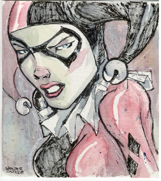 Harley Quinn by Walter-Ostlie