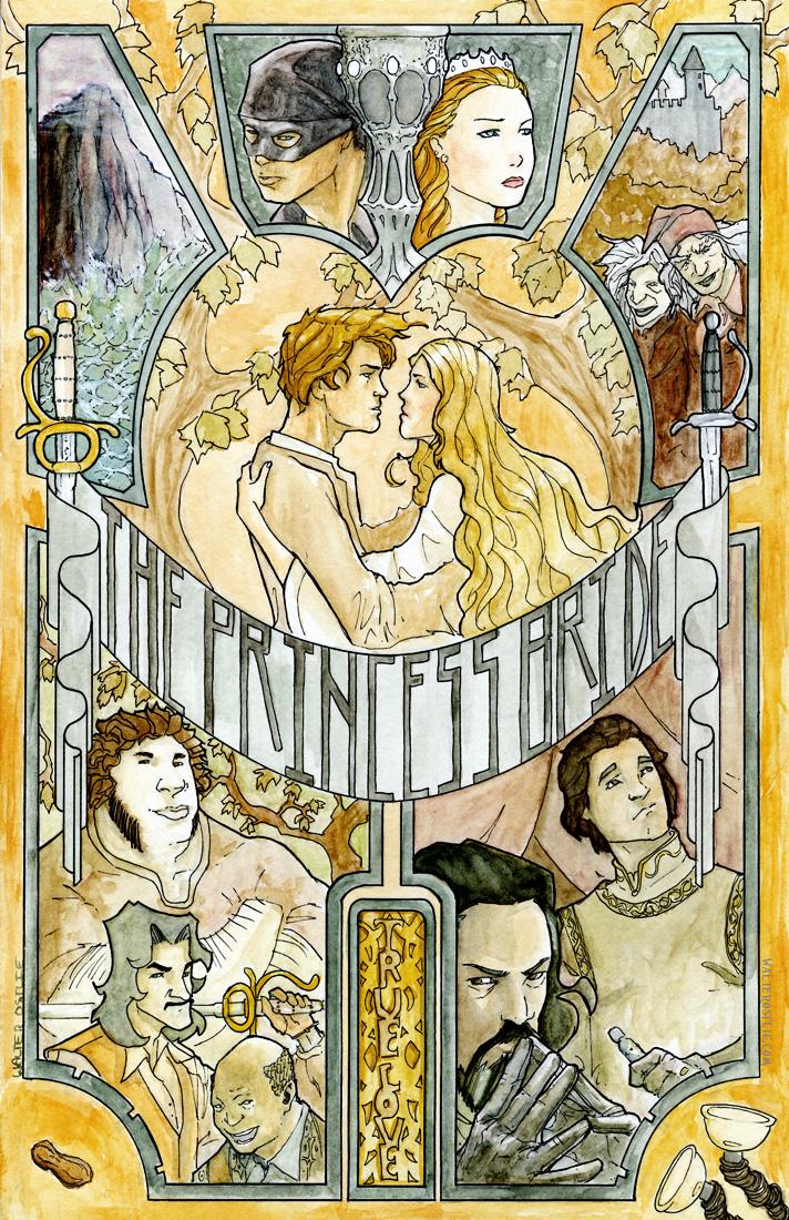 Princess Bride by Walter-Ostlie
