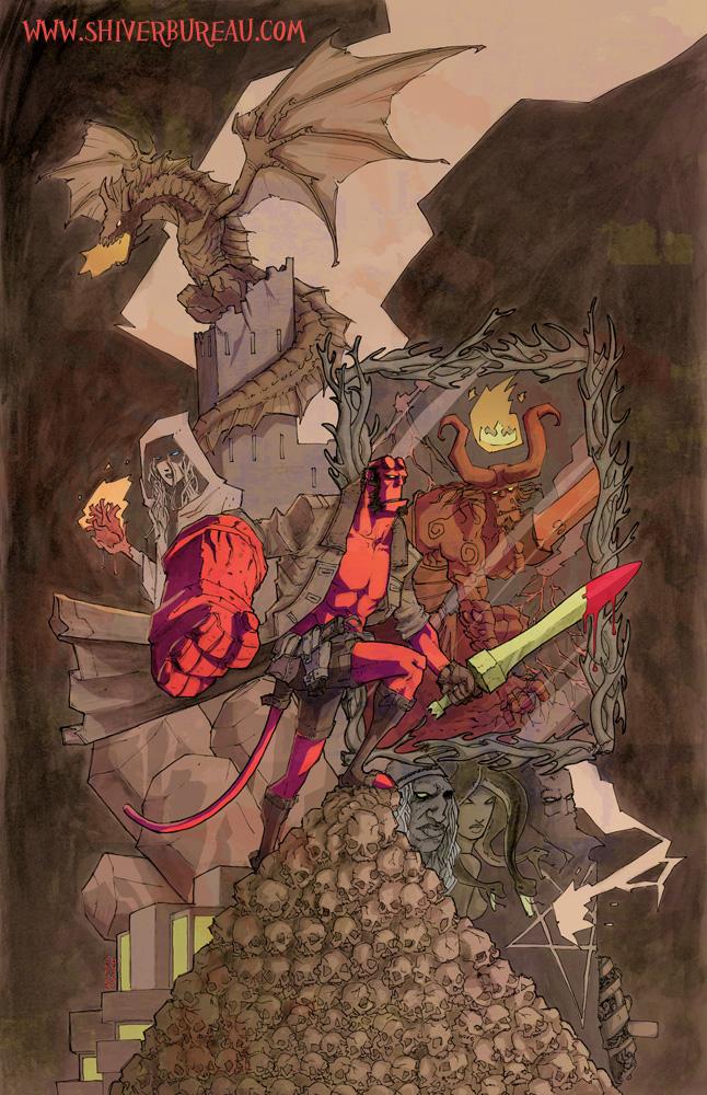 Hellboy - 20 years by Walter-Ostlie