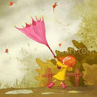 RainyDays : The Umbrella by Nephyla