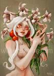 RAXXON-Lilith in flowers by Nephyla