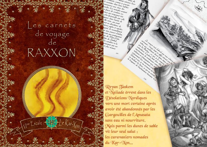 +RAXXON+ Carnet de Voyages VI by Nephyla