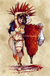 +Soleil Pin-up January+ Cixi by Nephyla