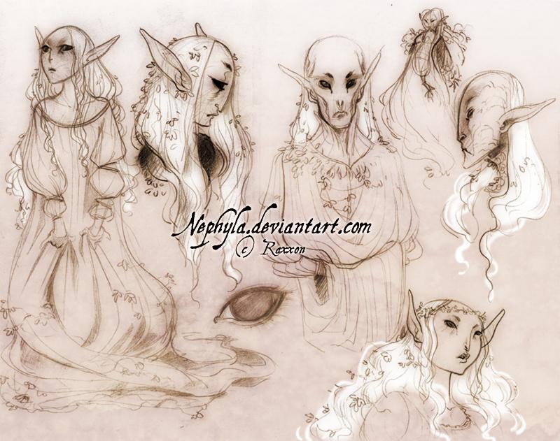 +RAXXON+ Elves of El'yen by Nephyla