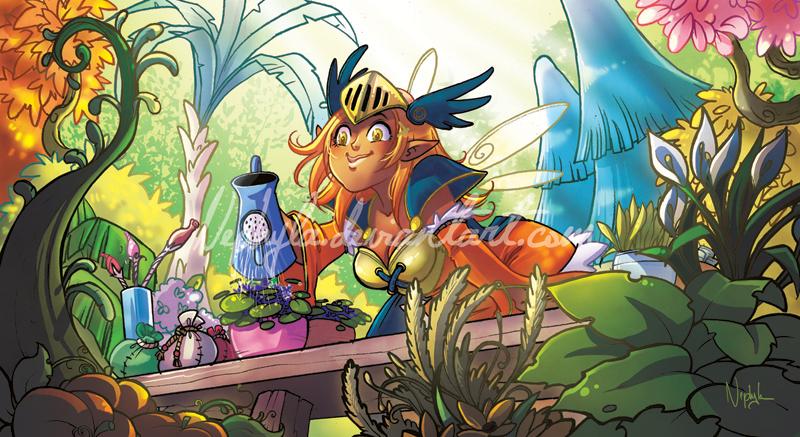 +WAKFU+ Lola's Garden by Nephyla
