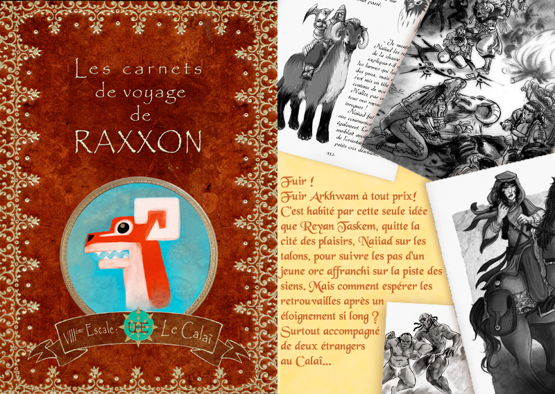 +RAXXON+ Carnet de Voyages VIII by Nephyla