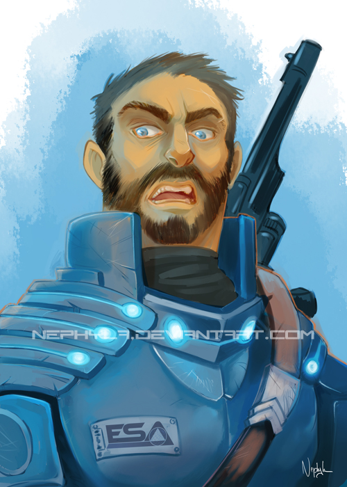 +COMMISSION+ Commander Tuckson by Nephyla