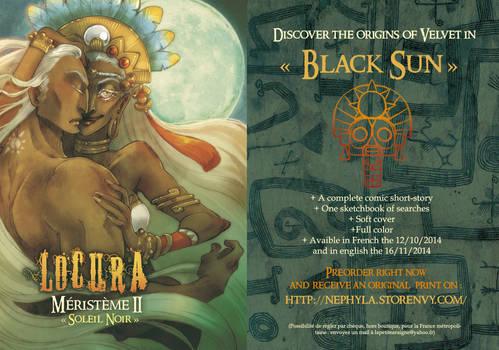 +LOCURA+ Black Sun [PREORDERS NOW]