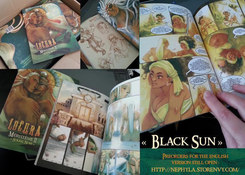 +LOCURA+ Black Sun [Prewiews] by Nephyla