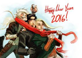 Happy New Year 2016 by Nephyla