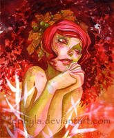 Autumn Fairy by Nephyla