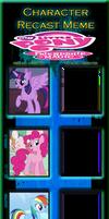 My Little Pony Recast Meme Part One