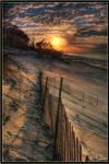 A Natural Dune Sunset