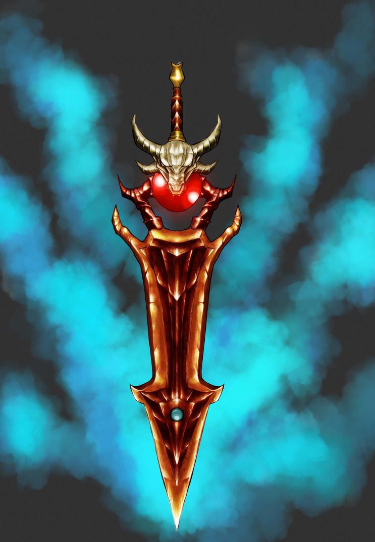 dragon sword prop by dorimi
