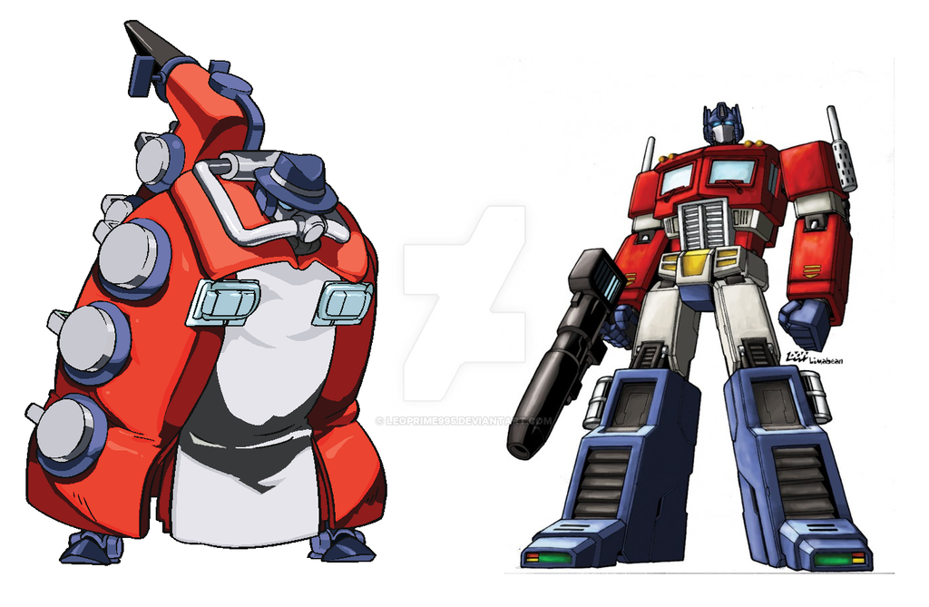 BigBand Optimus Prime Color Palettes By LeoPrime995 ...