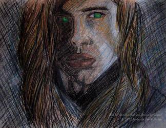Vampire Louis De Ponte Du Lac.Portrait by Damian-Damian