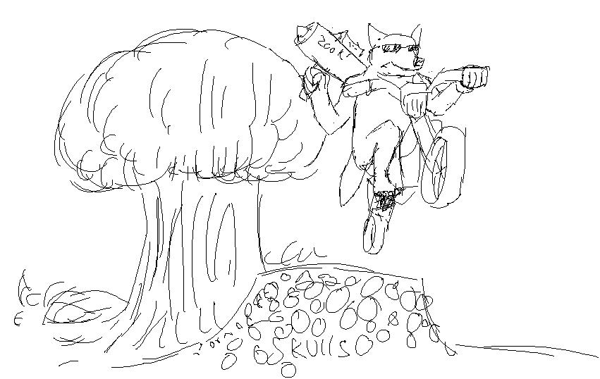 Request: werewolfbikezookathingexplosionwhoa by shook12