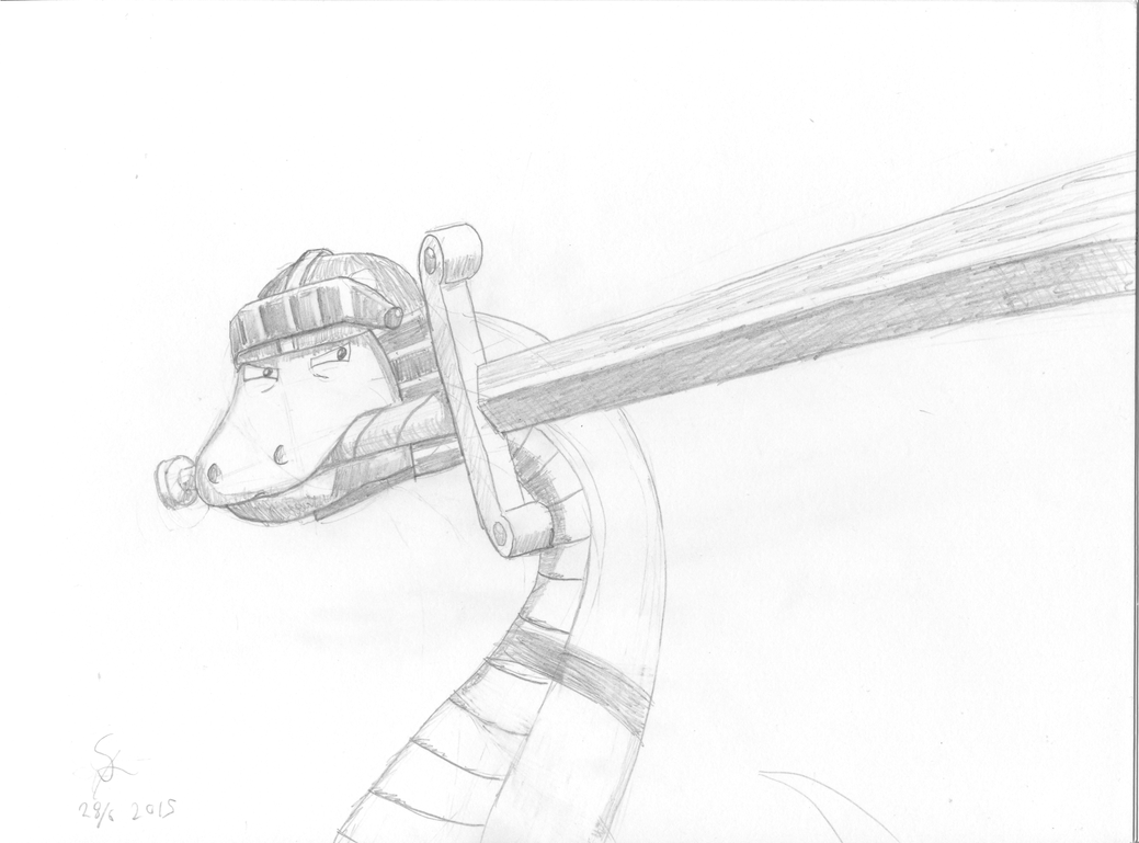 rarara enhanced swordsnaek by shook12