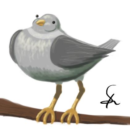 pigeonpaint by shook12