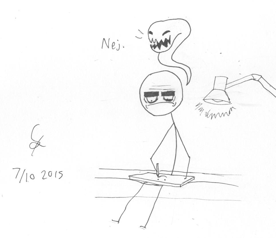 INKTOBER: INKxiety by shook12