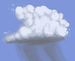 one cloudy boi