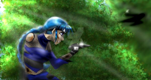 ninja tag by Mazeyelle