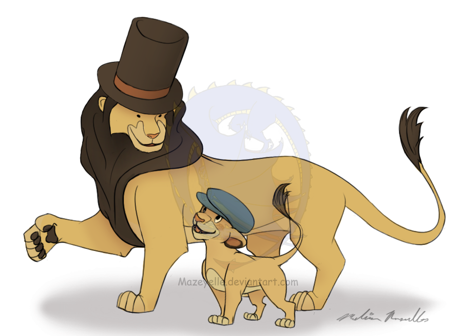 The Layton King by Mazeyelle