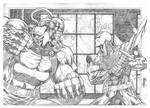 Bane vs Deathstroke
