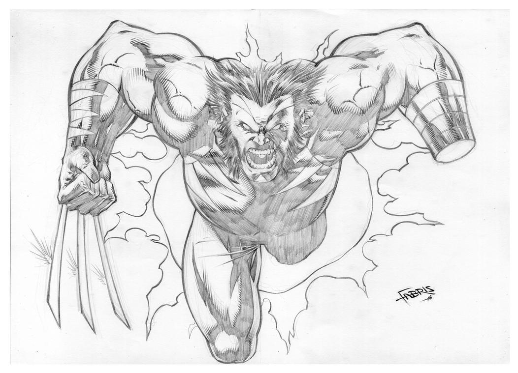 Wolverine by Fabiano-Ribeiro