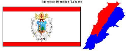 Phoenician Republic of Lebanon by darkwarrior52