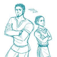 TP: raoul and buri by Minuiko