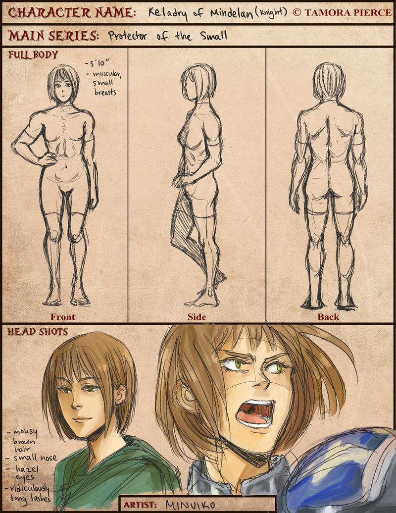 TP: Kel Design: Lady Knight by Minuiko