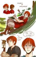 TP: Merric of Hollyrose by Minuiko