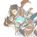 Korra: catch me if you can