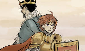 TP: you're a king and I'm a lionheart
