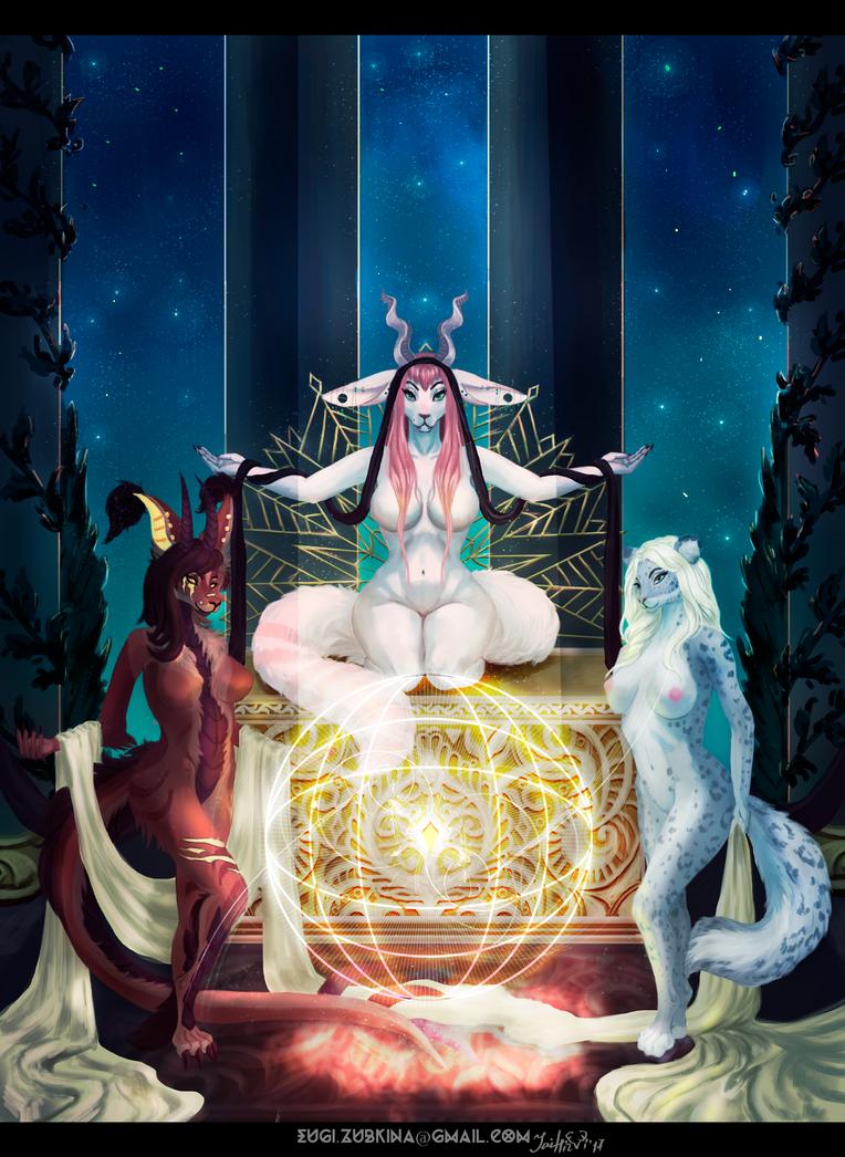 Priestesses [Y][C] by JaiZub