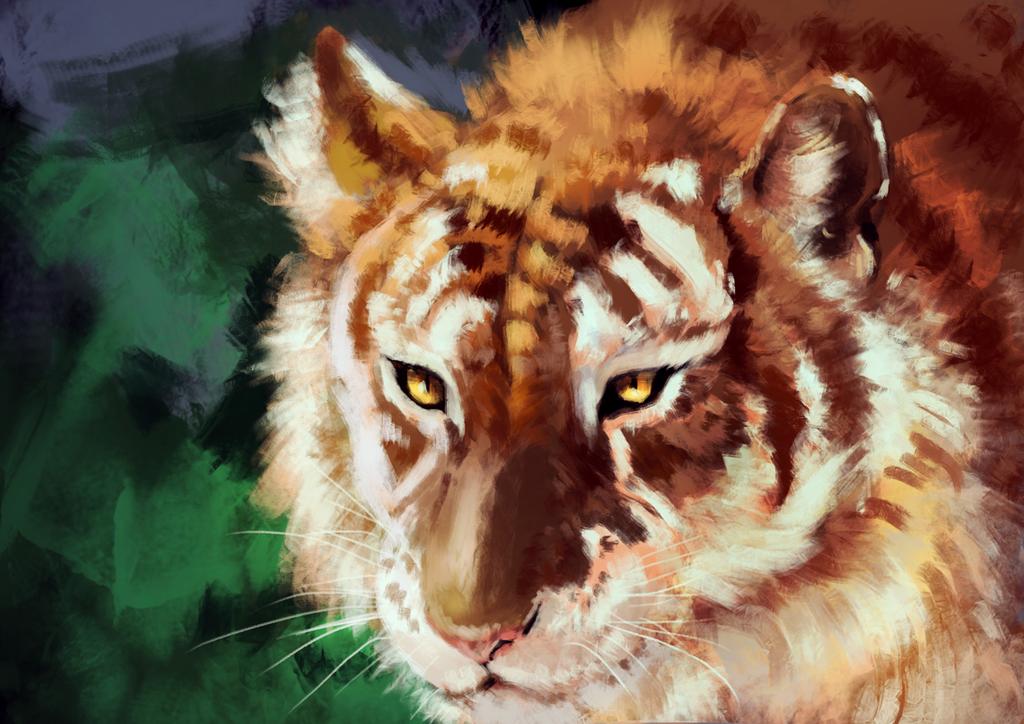 Tiger by JaiZub