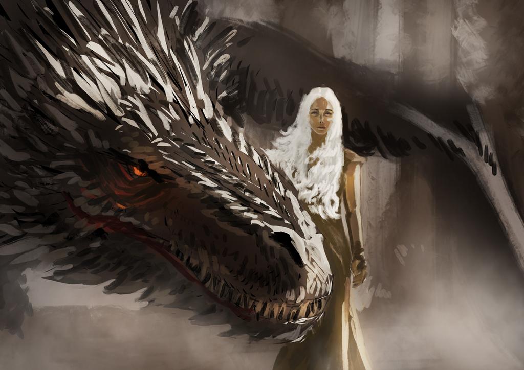 Khaleesi by JaiZub