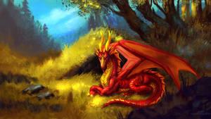 Autumn dragon [Y][C] by JaiHirvi