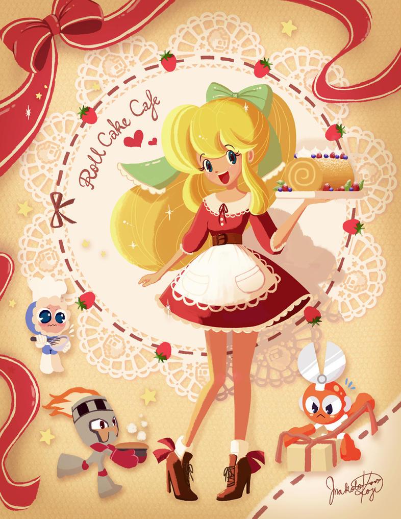 Roll Cake Cafe by Makocchi