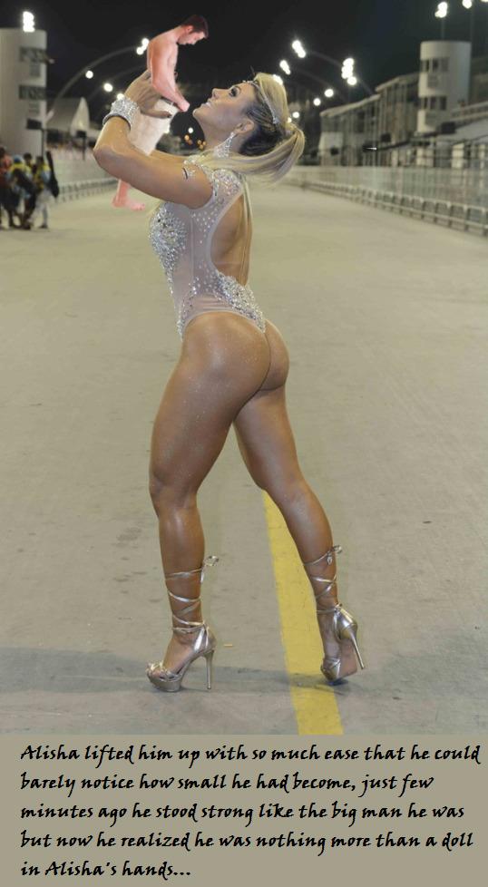 Giantess Dancer by MiniGtsLover