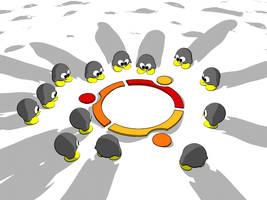 Ubuntu penguin v1 by linksan